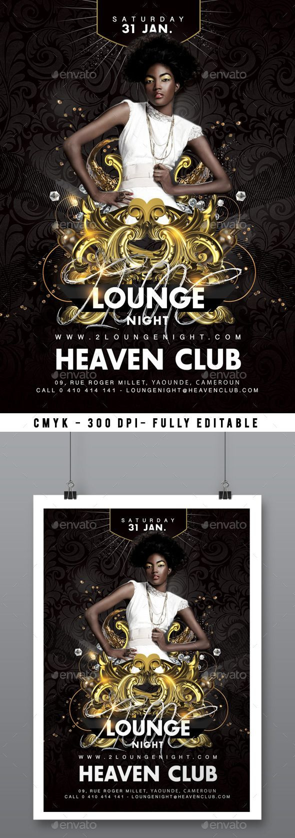 Lounge Party Flyer