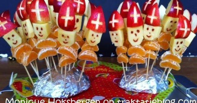 Vooruit. Nog één Sinterklaastraktatie dan dit jaar. Omdat het zo'n prachtig plaatje is. Èn omdat het gezonde traktaties zijn.   Sinterklaa...