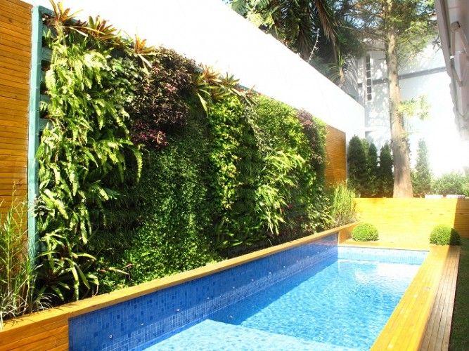 jardim vertical na piscina - Pesquisa Google Decor ...