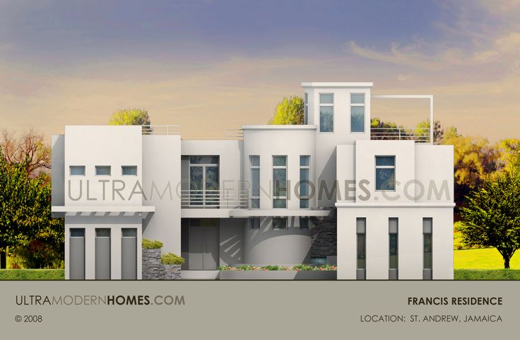 Ultra Modern house design in Saint Andrew Jamaica designed by