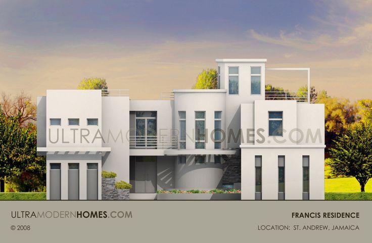 Ultra modern house design in saint andrew jamaica for Modern house design jamaica