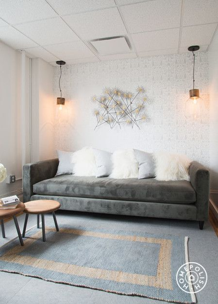 nethercote wallpaper in purewows stylish nyc office homepolish new york city - Wallpaper For Homes Decorating