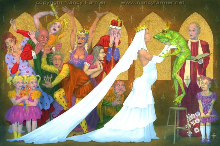 The Royal Wedding. Artwork details: gouache, with 24k gold leaf, 16.2 x 10.8 inches (41 x 27 cm), 2011. Price: £1700.00 (plus shipping). Prints: Sorry, no prints of this image are available.