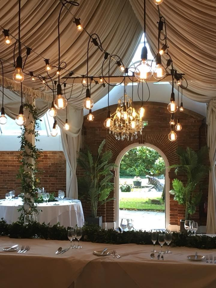 Drop Bulbs In Aspinall Suite At Port Lympne Festoon Ceiling Lights Bulb