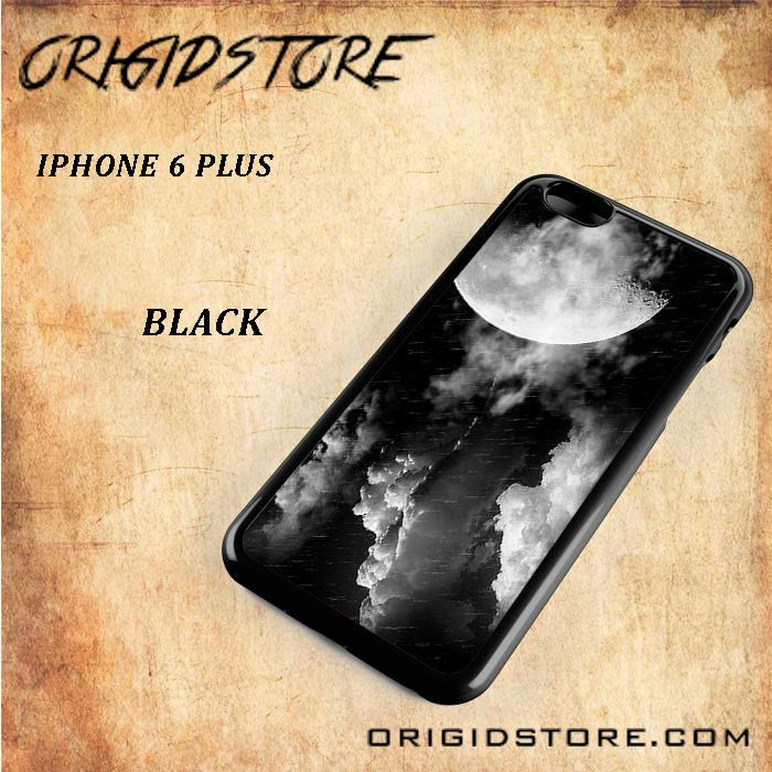 Storm Full Moon White and Black For Iphone 6 Plus Case - Gift Present Multiple Choice