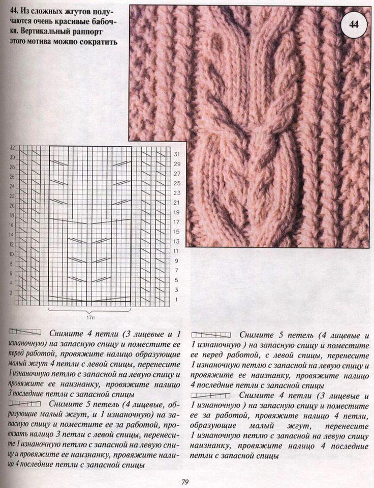 отождествления схемы вязания аранов спицами подробно с фото первых