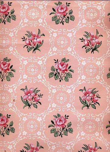 Vintage Wallpaper by LarkingAbout, via Flickr