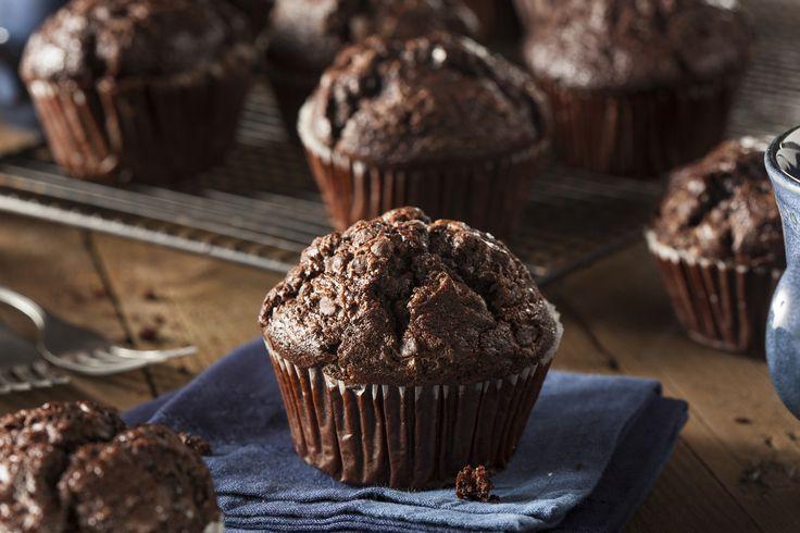 Puha csokis-banános muffin, amelyből soha nem tudsz eleget sütni