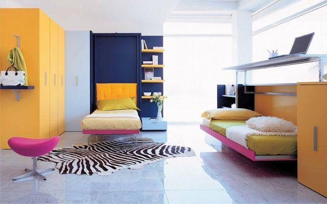 дневник дизайнера: Детские откидные кровати Clei - больше, чем просто мебель!