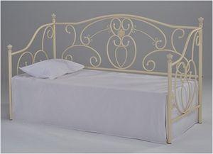 Кровать-софа Jane (Джейн) белая / Односпальные кровати / Мебель для спальни