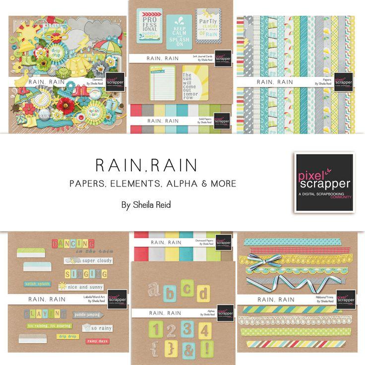 """Rain, Rain Bundle"" bundle by Sheila Reid"