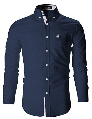 FLATSEVEN Mens Slim Fit Stretch Casual Dress Shirts (SH18... https://www.amazon.com/dp/B01H3EOZPQ/ref=cm_sw_r_pi_dp_tZfHxbGYAK7CY