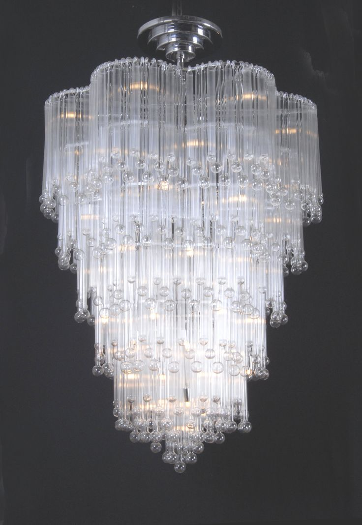 25 best ideas about blown glass chandelier on pinterest for Unique foyer chandeliers