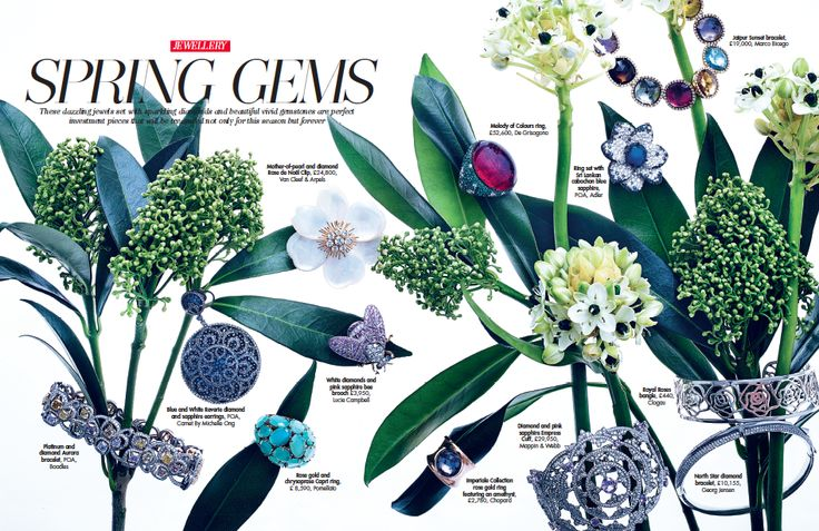 Our Royal Roses bangle in HELLO! Spring Gems fashion special