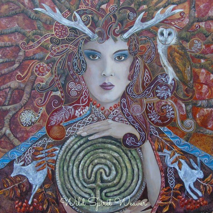 Elen by Beth Wildwood Wild spirit weaver