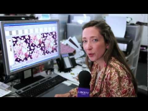 BEHIND THE SCENES in the Liberty Art Fabrics Design Studio - YouTube
