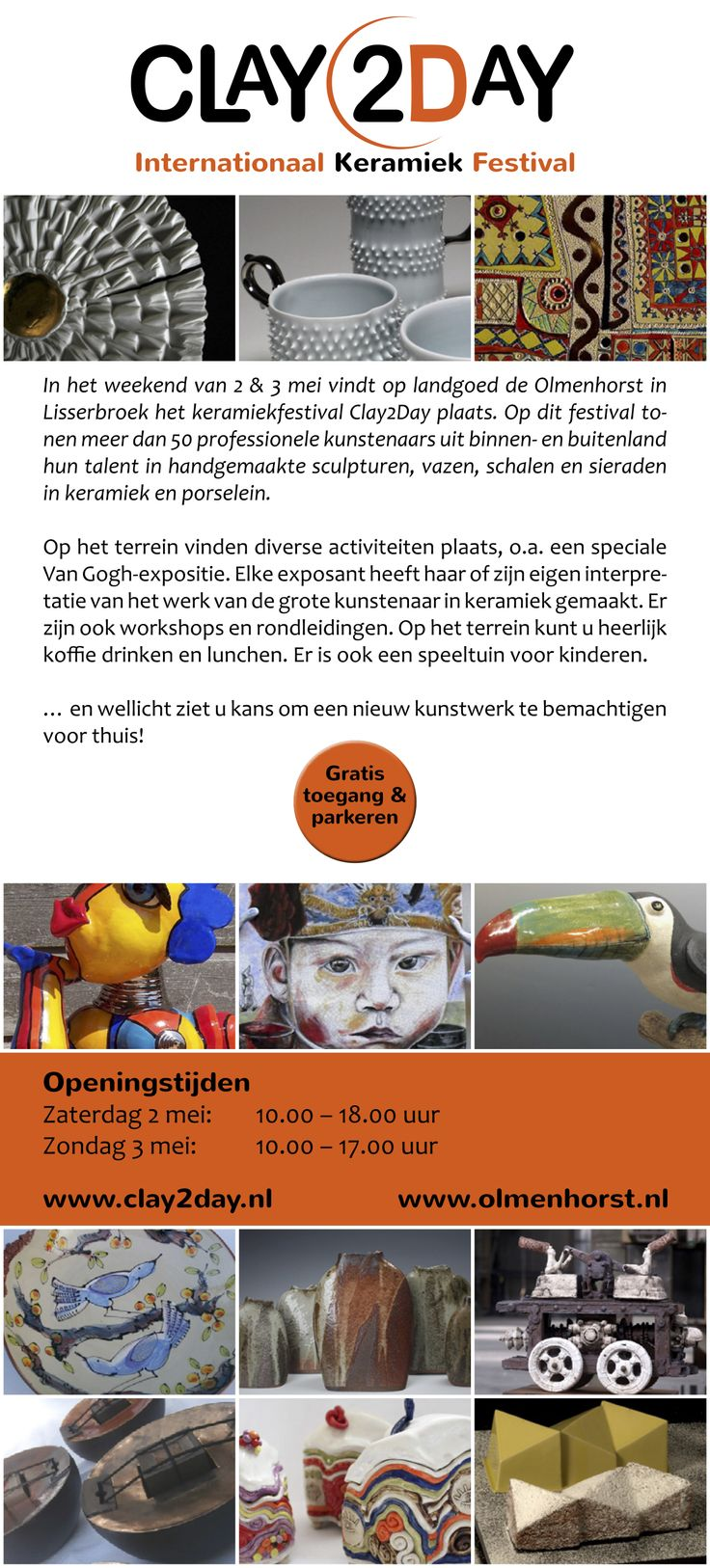 Clay2Day Nederlands e-flyer