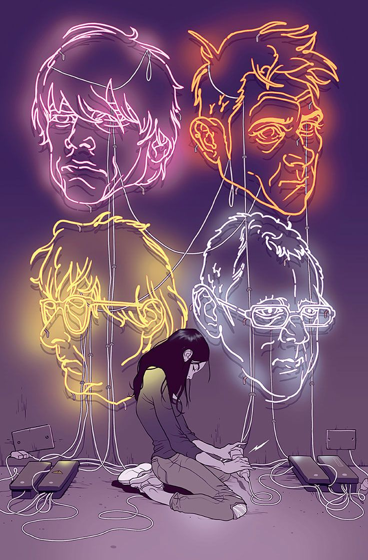 Blur's The Magic Whip by Tomer Hanuka