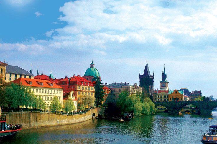 #Prag with Michel Deguy...