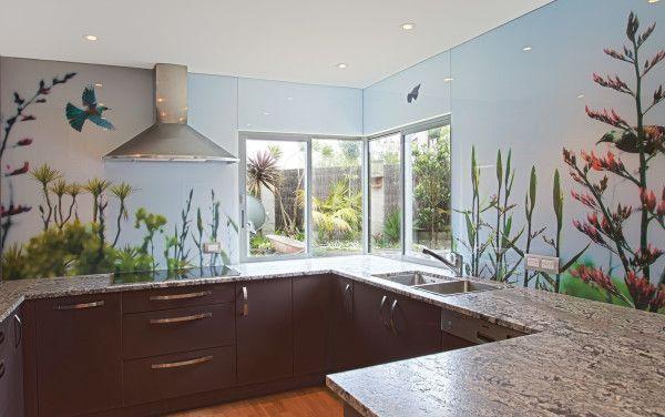 Glass splashbacks for kitchens