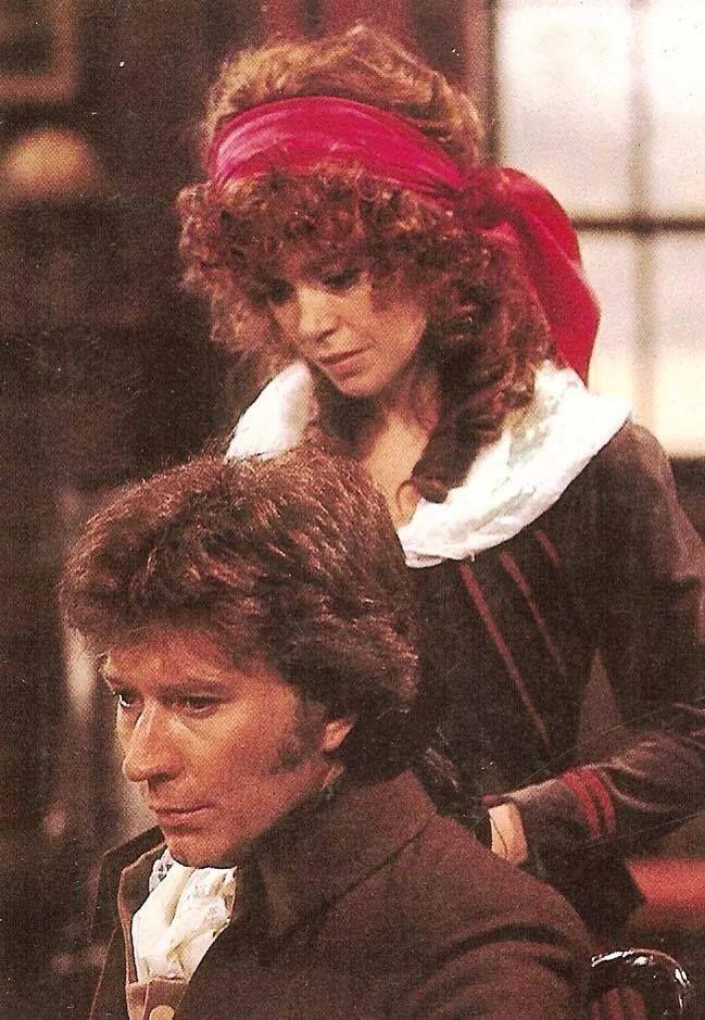 Robin Ellis & Angharad Rees, Poldark 1977.