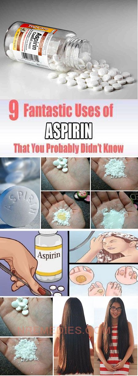 9 AMAZING USES OF ASPIRIN THAT YOU'VE PROBABLY NEVER HEARD OF #uses of asprin #asprin