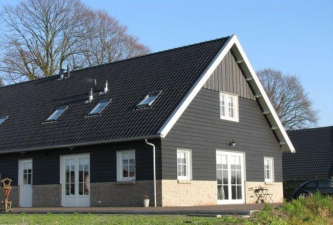 Houten landelijk huis bouwen jaro houtbouw de schuurwoning is in nederland in opmars door - Landscaping modern huis ...