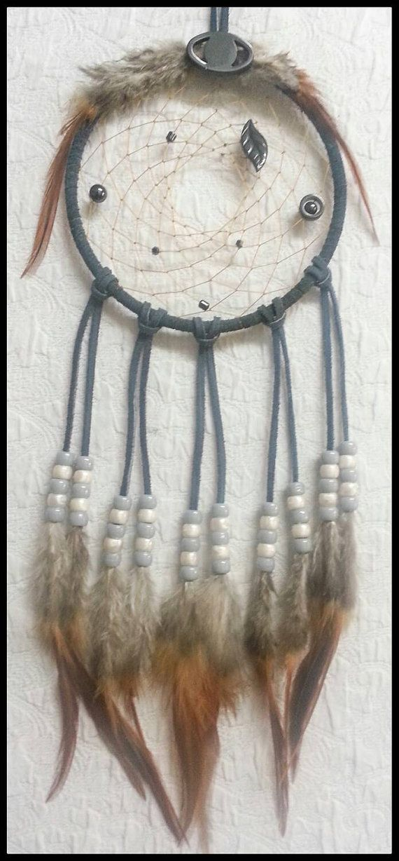 Check out this item in my Etsy shop https://www.etsy.com/listing/226003737/dream-catcher-hematite-healing-gemstones