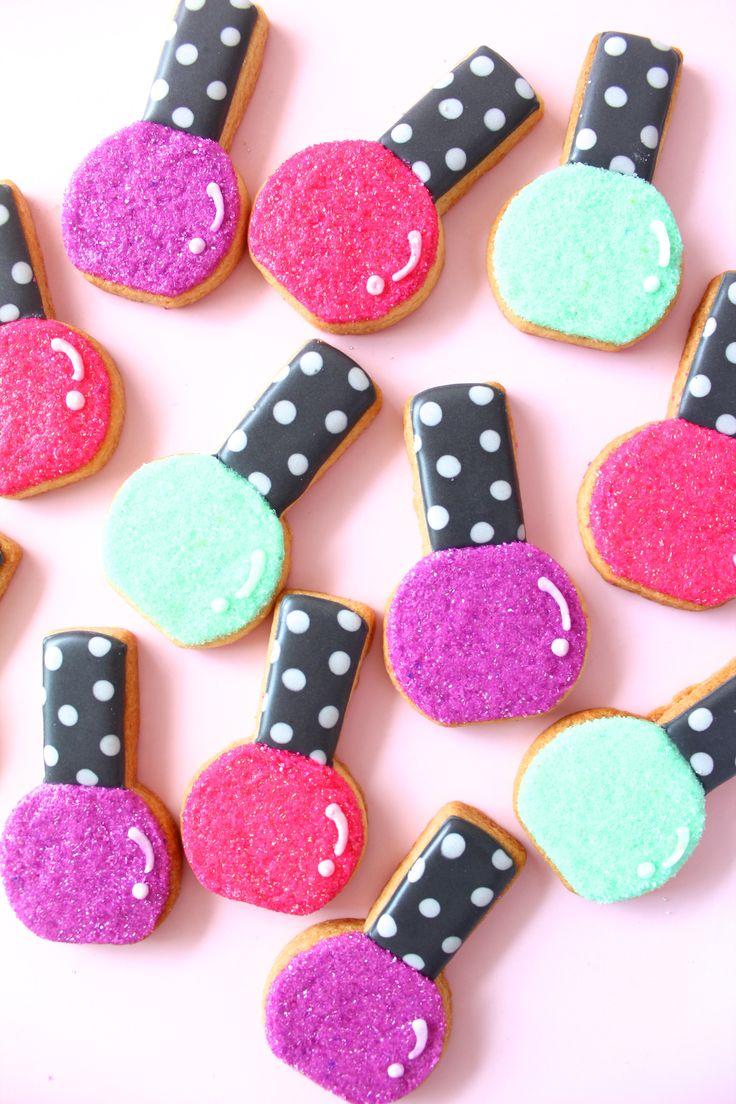 Nail Polish Cookies LOVE!