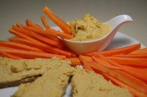 Хумус – постный паштет из горошка нут