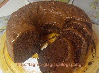 Τα φαγητά της γιαγιάς: Κέικ σοκολάτας, με επικάλυψη πραλίνας φουντουκιού