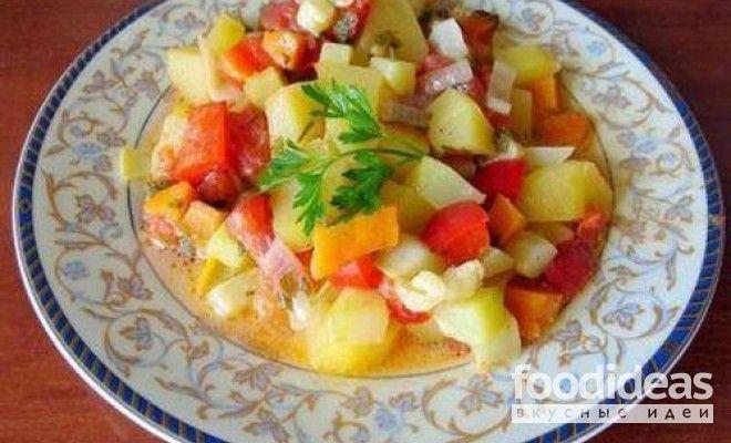 Рагу из кабачков - рецепт приготовления с фото | FOODideas.info