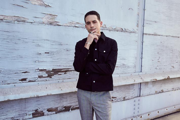 H&M announces extension of the collaboration with Alibaba's Tmall and release of 'G-Eazy x H&M' men's wear. H&M starts 2018 with extended online activities and a new men's wear co-created with a US rapper whose music from the latest album is currently upwards trending in several charts... fig.: Portrait of US (Oakland, California) hip-hop rapper G-Eazy who co-created the upcoming 'G-Eazy x H&M' men's wear (available from 1st March 2018 in stores, online). ...