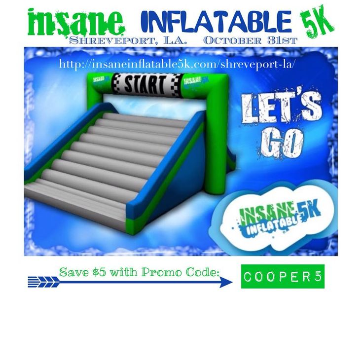 Insane Inflatable 5k Long Beach Promo Code