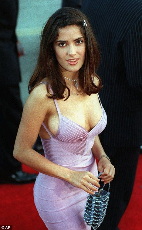 "Salma Hayek Kibbe verified Theatrical Romantic. She's 5'2"", petite, curvy, and slightly sharp."