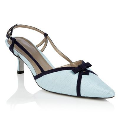 Jacques Vert Misty Blue and Monique Shoe- at Debenhams.com