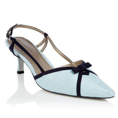 Jacques Vert Misty Blue and Monique Shoe- at Debenhams.com