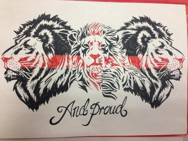 Another #england #tattoo #design #drawing #lion #stgeorgecross #proud ...