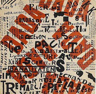 th. van doesburg, affiche 1922
