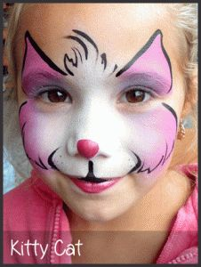 Kitty Cat Face Painting by MImicks