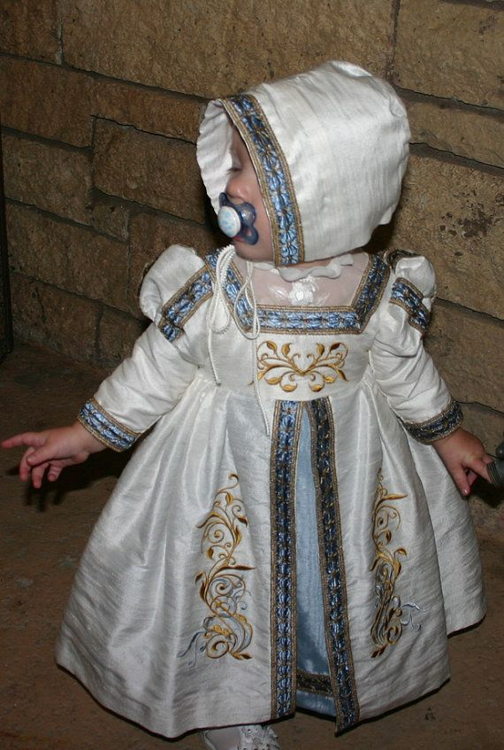 Toddler Princess Renaissance Gown by JSBridal on Etsy, $300.00    Great idea! Nudge Lydia