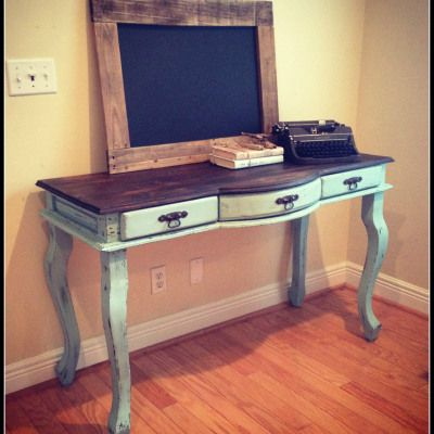 A hello and a ReFinished Desk