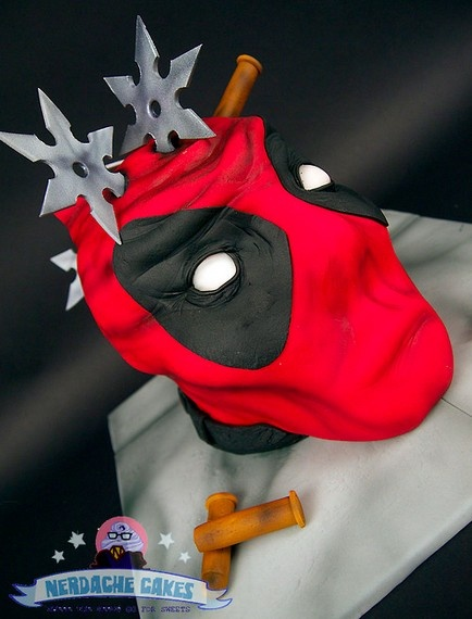 Decapitated #Deadpool #Cake  #Comics #comiXology #ComicBook #Read