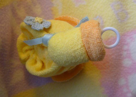 Le canard de gant de toilette ORIGINAL... Bébé Quackers en