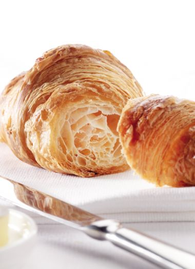 Franse roombotercroissants