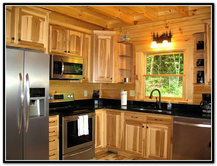 1000 ideas about hickory kitchen cabinets on pinterest for Kitchen cabinets lowes with format papiers
