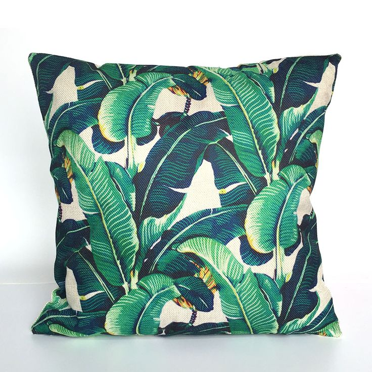 Cheap cushion pillow case cover, Buy Quality cover decoration directly from China pillows decorative covers Suppliers: Tree Cushion Pillow Case Cover Decorative Pillows Decorative Covers Linen Cotton For Sofa Jungle Paris Flower Tropical Decor