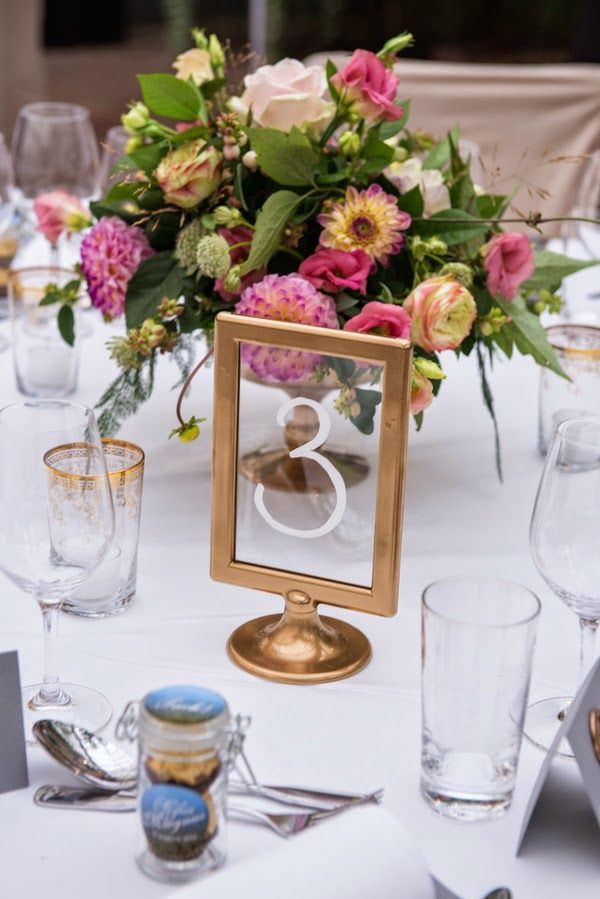 Unique table numbers