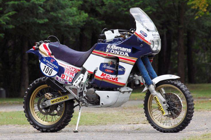 #Honda Africa #Twin  It reminds me of the old Aspincade