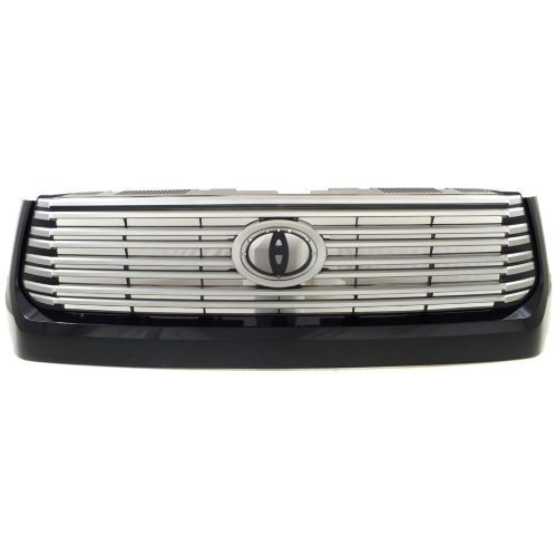 Awesome Awesome 2014-2016 Toyota Tundra Grille,Assy,Painted Silver Gray,w/Black Molding 2017/2018 Check more at http://24auto.tk/toyota/awesome-2014-2016-toyota-tundra-grilleassypainted-silver-graywblack-molding-20172018/